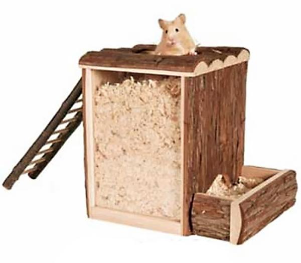 Домик для хомяка из картона своими руками